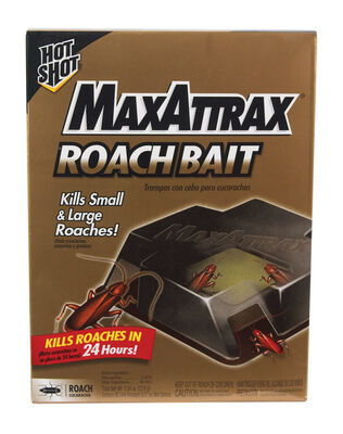 Hot Shot MaxAttrax Bait Station Roach Killer