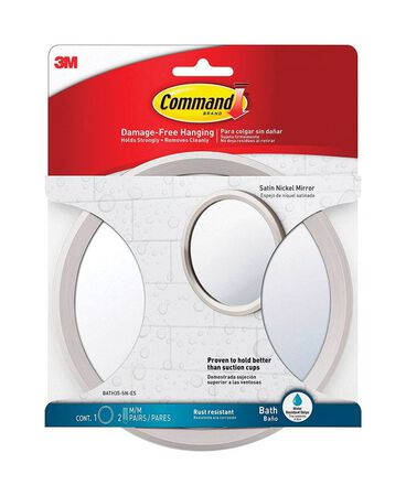3M COMMAND Small ADHESIVE STRIPS Adhesive Strips 6.82 in. L PLASTIC 05 oz. 1 pk
