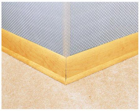 Miller 0.8 in. W x 48 in. L Plastic Corner Savers