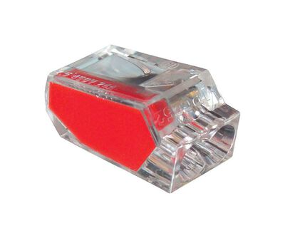 Gardner Bender PushGard Wire Connector 100 pk Professional 22-12 AWG Red Polycarbonate