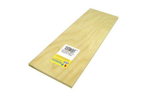 Midwest Products 1/4 in. x 0.3 in. W x 1 in. L Plywood Plywood