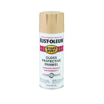 Rust-Oleum Stops Rust Sand Gloss Protective Enamel Spray 12 oz.