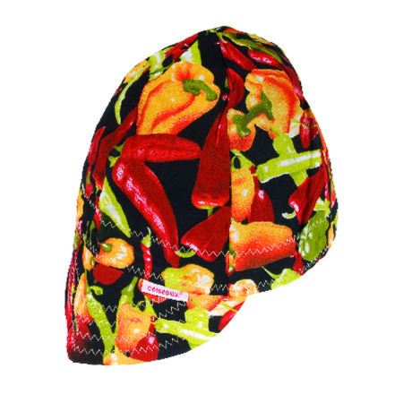 Forney Reversible Welding Cap 7-1/2 in. Multicolored