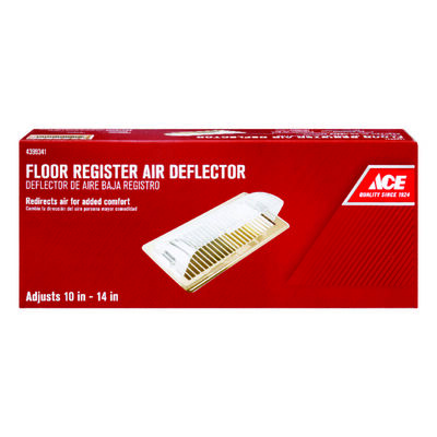 Ace 14 in. W Plastic Clear Air Deflector