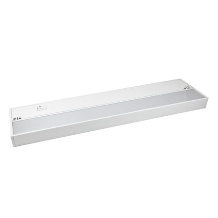 AmerTac Kern Collection 30 in. L Plug-In LED Under Cabinet Light Strip White 880