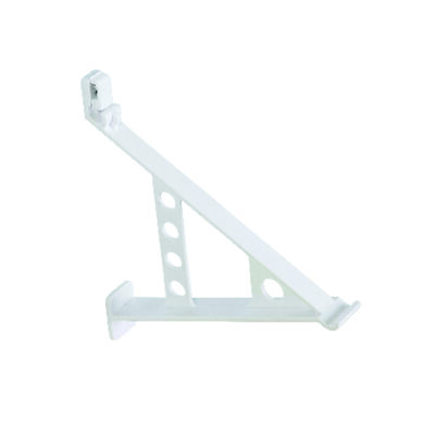 Rubbermaid 12 in. L Steel White Shoe Rack W/Hardware