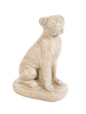 Small Boxer Dog Statue Tobacco Road