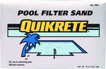 Quikrete 50 lb. Pool Filter Sand
