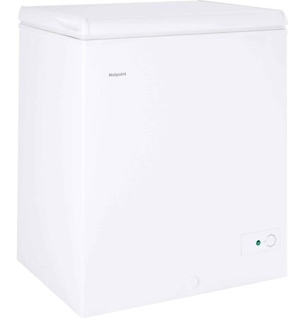 Hotpoint - 5.1 Cu. Ft. Chest Freezer - White