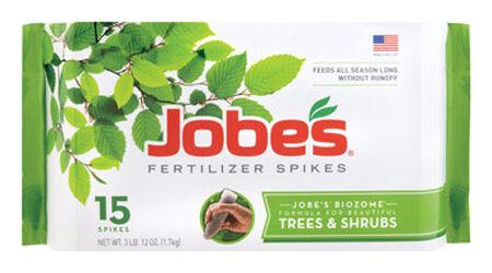 Jobe's Fertilizer Spikes For Trees Shrubs 15 pk