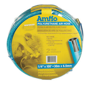 Amflo Polyurethane Air Hose 1/4 in. x 100 ft. L 300 psi