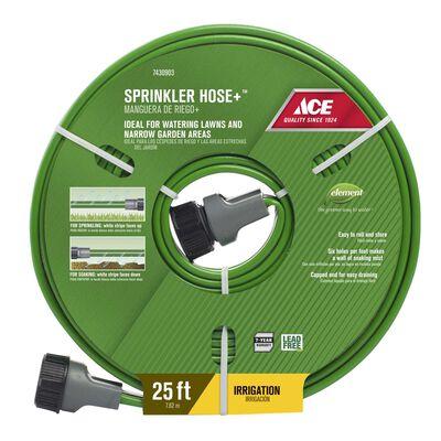 Ace 25 ft. L Sprinkler Hose Kink Resistant