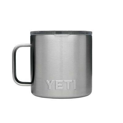 YETI Rambler 14 oz. Insulated Mug Silver