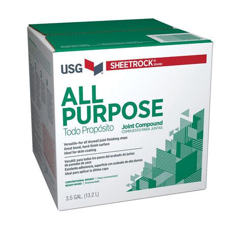 Sheetrock All Purpose Joint Compound 48 lb. Off White 24 hr.
