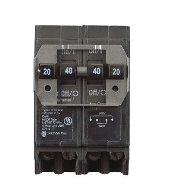 Eaton HomeLine Four Pole 20/40 amps Circuit Breaker