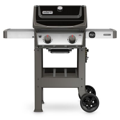 Weber Spirit II E-210 2 burners Propane 44.5 in. H Grill Black 26 500 BTU