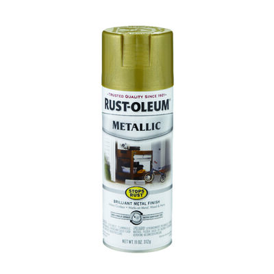 Rust-Oleum Stops Rust Gold Rush Metallic Metallic Spray 11 oz.
