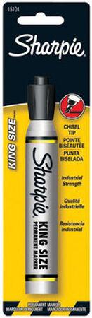 Sharpie King Size Black Chisel Tip Permanent Marker 1 pk
