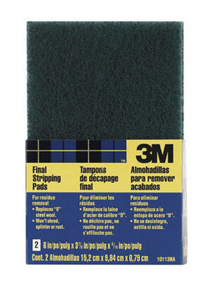 3M Stripping Pad Coarse 0 6 in. L