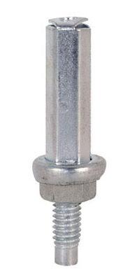 Prime-Line Mill Bottom mount Bi-fold Door Pivot Silver 2 pk