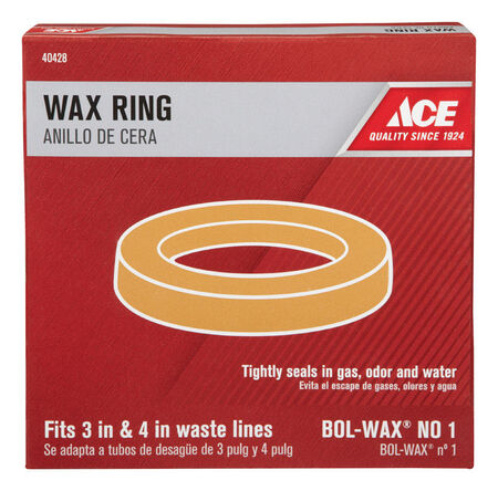 "Ace 3"" ID 4"" OD Wax Ring"