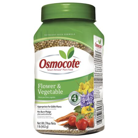 Osmocote Plant Food For Flowers Vegetables 1 lb.