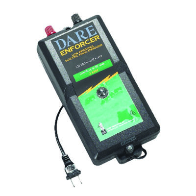 Dare Products 110 volt Electric-Powered Fence Energizer 5 mile Black