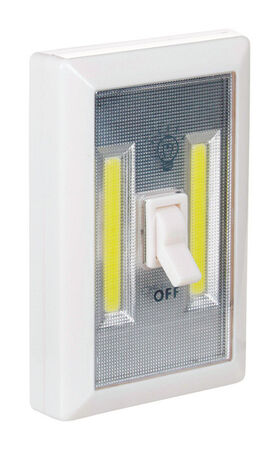 Diamond Visions 200 lumens COB LED Night Light with Switch AAA White