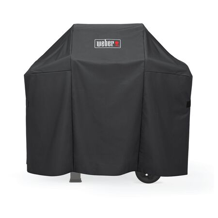 Weber Black Grill Cover 43 in. H x 48 in. W x 48 in. D For Spirit 200 Series Gas Grills