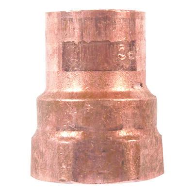 Elkhart 3/8 in. Dia. x 3/8 in. Dia. Copper To FIP Copper Pipe Adapter