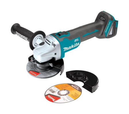 Makita 18V LXT 4-1/2 in. Dia. Cordless 8 500 rpm 18 volts Cut-Off/Angle Grinder