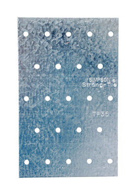 Simpson Strong-Tie 5 in. H Steel Galvanized Tie Plate