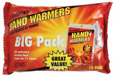 Grabber Hand Warmers 10 pair