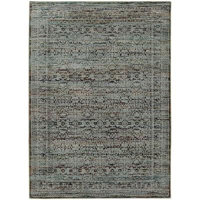 "Oriental Weavers 7127A Andorra Blue 7'10"" X 10'10"" Area Rug"