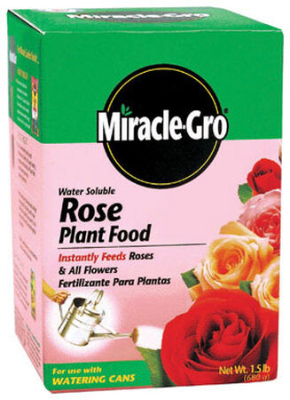 Miracle-Gro Rose Plant Food For Flowering Plants 1.5 lb.