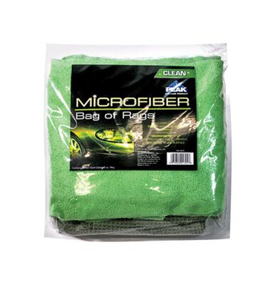 Peak 8.8 in. L x 2 in. W Microfiber Auto Cleaning Rags 24 pk