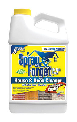 Spray & Forget House and Deck Cleaning Solution Bottle 64 oz.