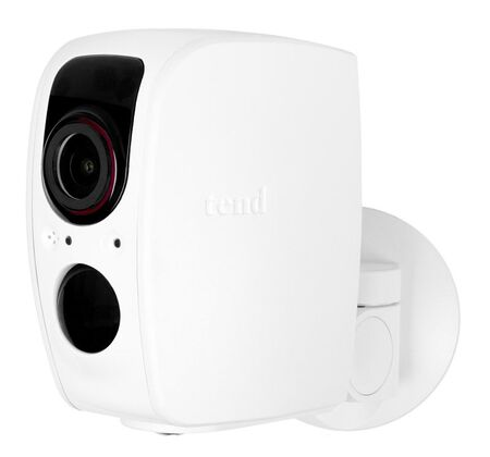 Tend Secure Lynx White Security Camera 3.825 in. H x 2.5 in. W x 3.5 in. L x 3.5 in. L