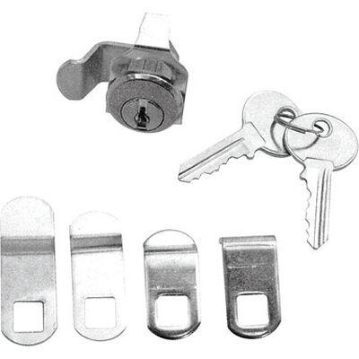 Prime-Le Nickel Diecast / Steel Mailbox Lock