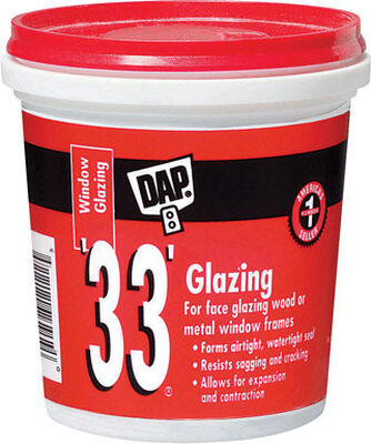 Dap 0.5 pt. Indoor and Outdoor White Glazing Compound