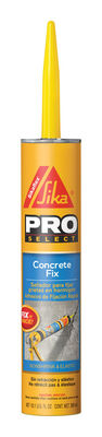 Sika Pro Select Sikaflex Polyurethane Concrete and Masonry Sealants Gray 10.1 oz.