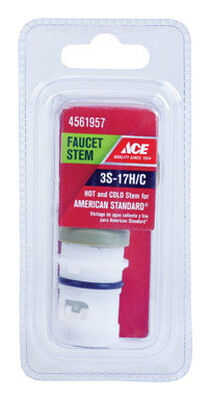 Ace Low Lead Hot and Cold 3S-17H/C Faucet Stem For American Standard