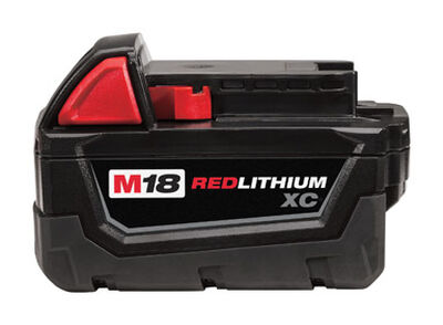 Milwaukee M18 XC 18 volts Red Lithium Battery Pack