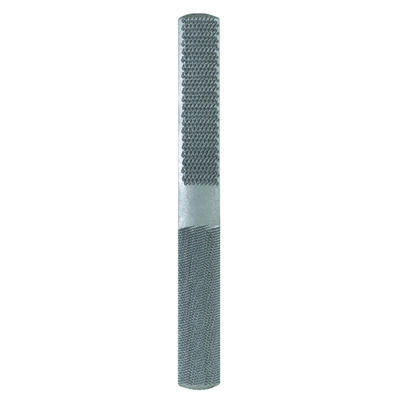 Nicholson Flat Side/Half Round Side 8 in. L 4-in-1 Hand Rasp and File American