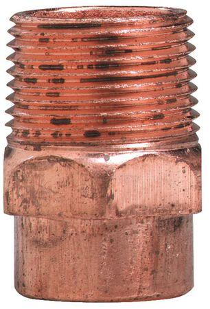 Elkhart 1/2 in. Dia. x 1/2 in. Dia. Copper To MIP Copper Pipe Adapter