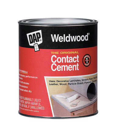 DAP Weldwood High Strength Rubber Contact Cement 1 pt.