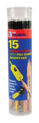 C.H. Hanson .125 mm Wood Pencil 15 pk