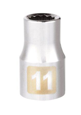 Craftsman 11 Alloy Steel Standard Socket 1/2 in. Drive in. drive