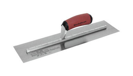Marshalltown Spring Steel Finishing Trowel 16 in. L x 4 in. W