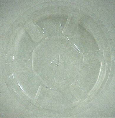 Gardener's Blue Ribbon Clear Plastic Plant Saucer 1 in. H x 4 in. W